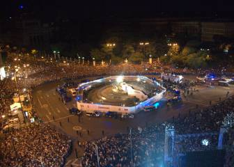 Follow Real Madrid's celebration in Cibeles live
