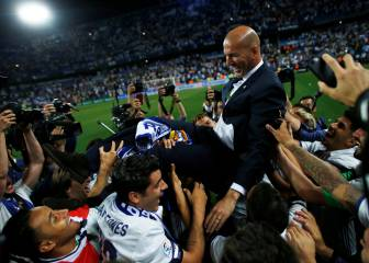 Zidane: 'The players were f*****g fantastic'