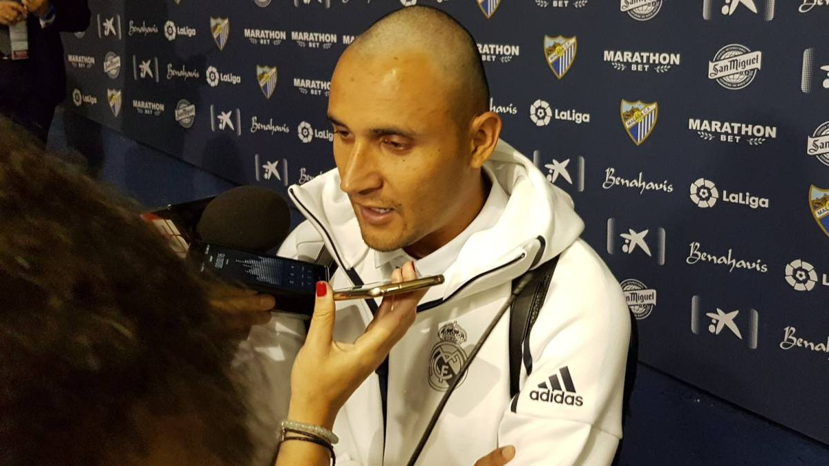 Why Keylor Navas shaves his head after Real Madrid s title win