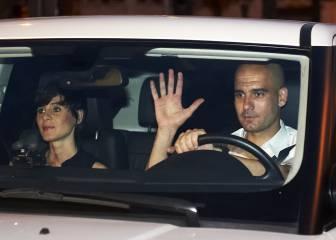 Pep Guardiola's wife and children were in the Manchester Arena