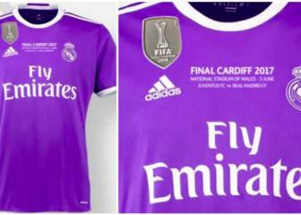 Confirmada la camiseta que lucirá el Real Madrid en la final