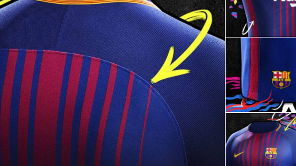 Official fc barcelona announce new kit for laliga 201718 as official fc barcelona announce new kit for laliga 201718 stopboris Choice Image