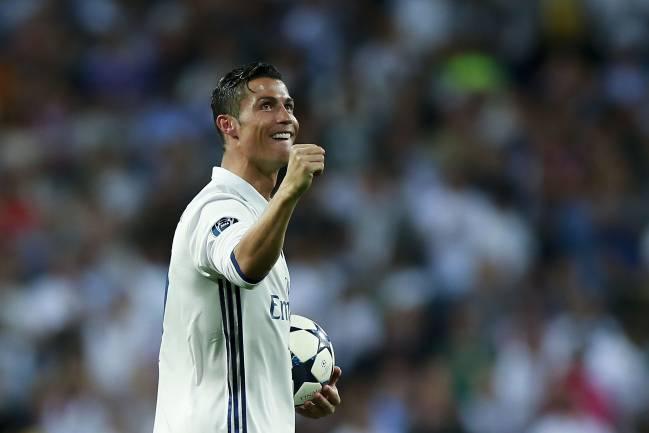 Cristiano Ronaldo, 'hat-trick' al Bayern.