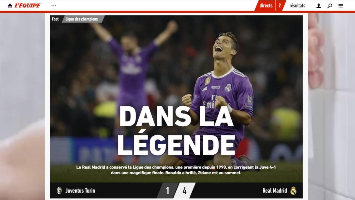 Los memes de Real Madrid luego de ganar la Champions League