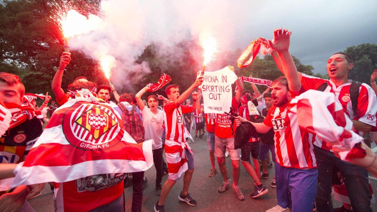 Girona asciende a primera división