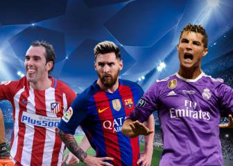 Champions League ideal squad: 8 Madrid, 3 Atletíco and Messi