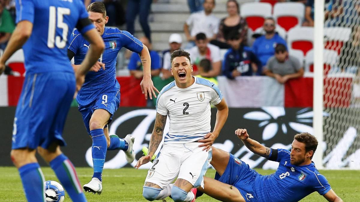 Italia 3-0 Uruguay  goles 8b9f26e1dbbba