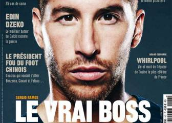 Sergio Ramos, portada de 'So Foot':