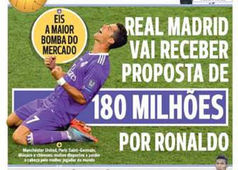 180 million euros for Cristiano: startling offers to Madrid