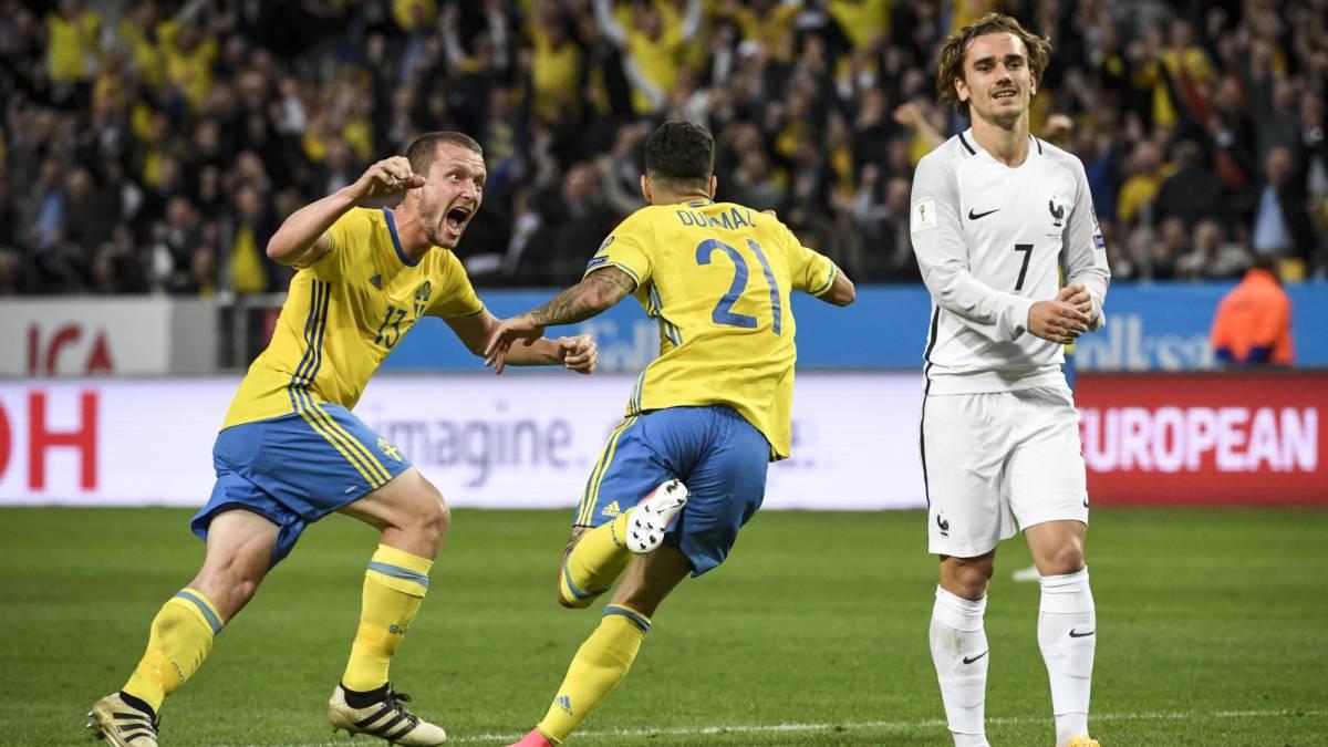 Resultado de imagen para Francia vs suecia derrota