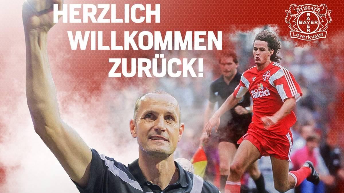 Heiko Herrlich, el nuevo entrenador del Bayer Leverkusen