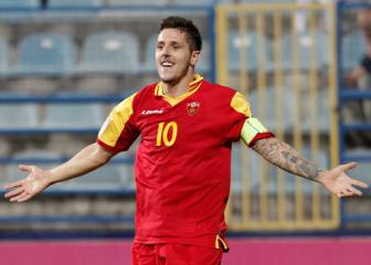 Jovetic reminds Sevilla of talent with superb Montenegro hat-trick