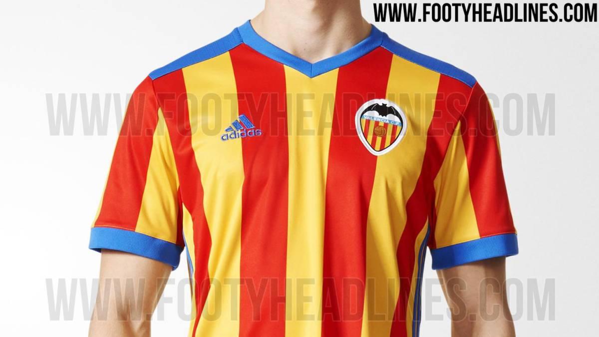 78fb2d4787063 Footyheadlines  desvela la nueva camiseta de la  Senyera  - AS.com