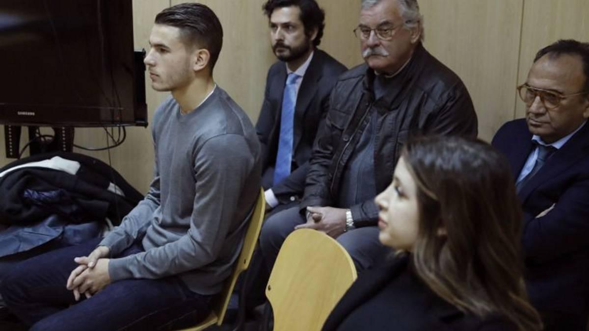 Lucas Hernández detenido tras romper una orden de alejamiento