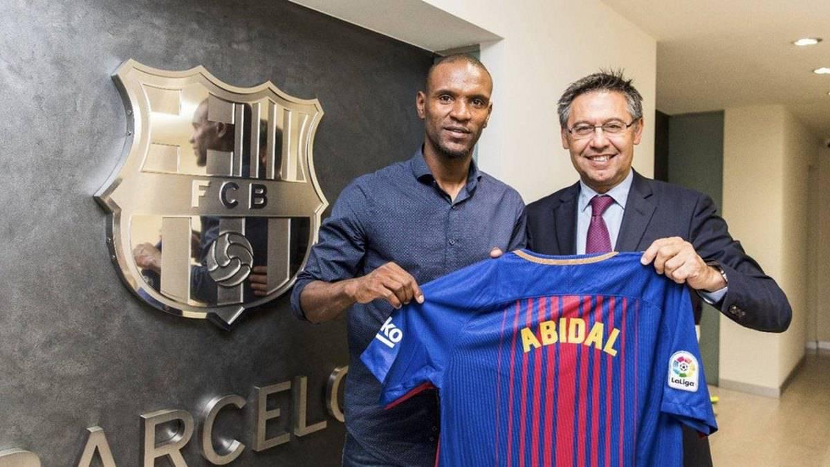 Éric Abidal es nuevo embajador del Barcelona
