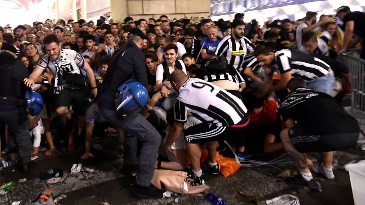 Muere mujer que resultó herida en estampida humana en Turín