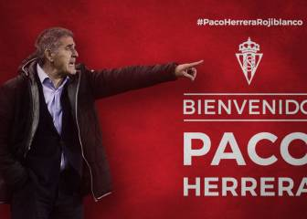 Paco Herrera returns to Sporting de Gijón 40 years later