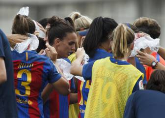 Barça and Atlético women brave heat to make Cup final