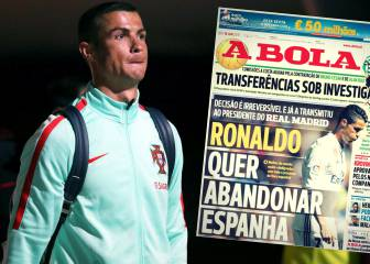 Cristiano wants to leave Spain: A Bola reports