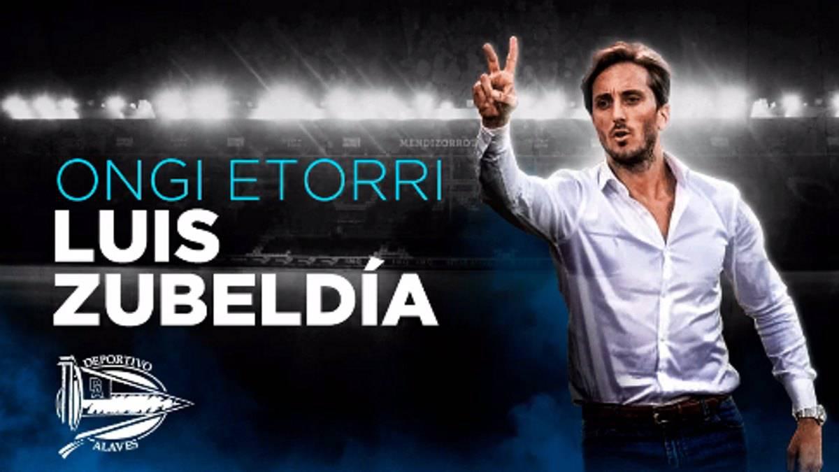 OFICIAL: Luis Zubeldía es el nuevo entrenador del Alavés