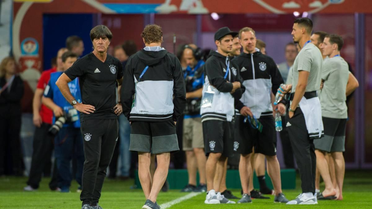 Alemania se estrena hoy en la Copa Confederaciones ante Australia
