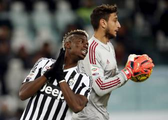 Pogba defends Donnarumma, calls for