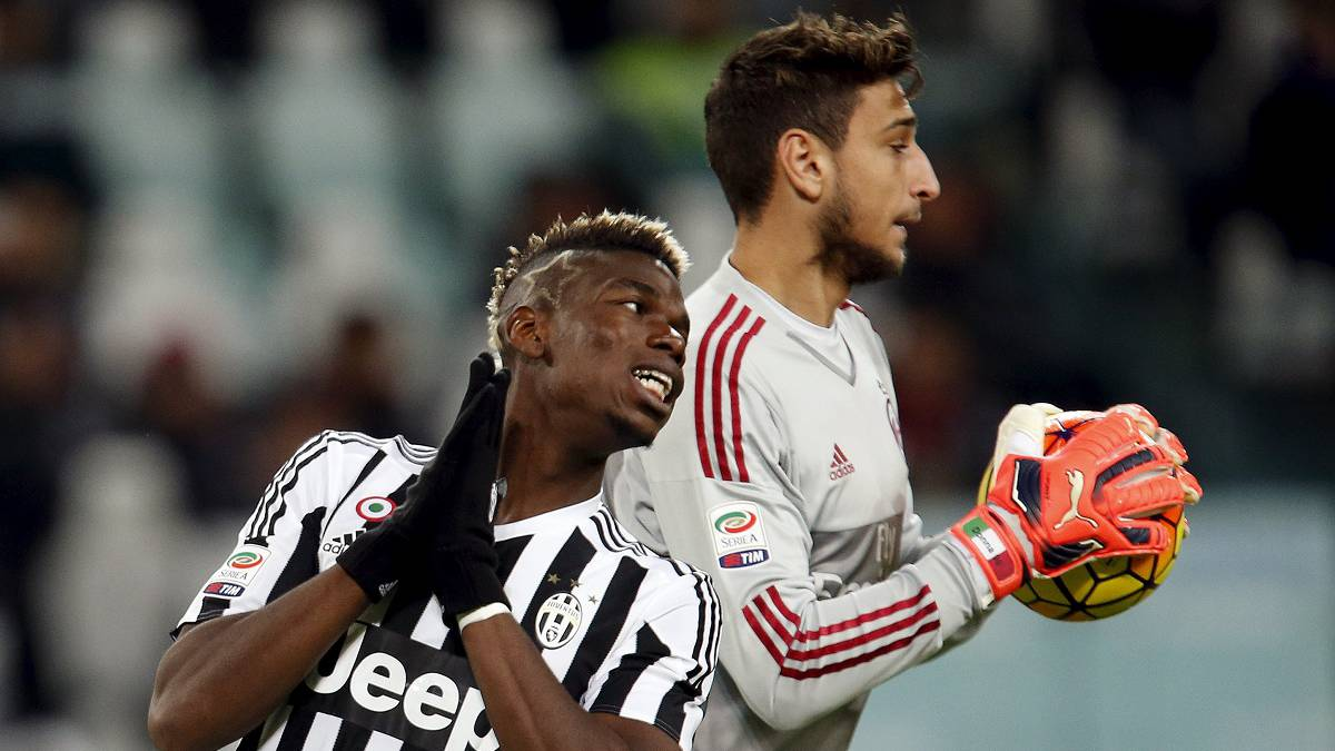 "Pogba defends Donnarumma, calls for ""respect"" for keeper"