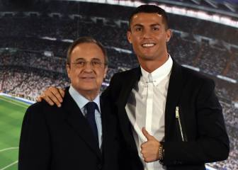Cristiano reconsiders exit after Florentino comes to his defence