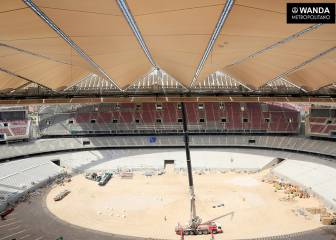 With the new season 2 months off, how is the Wanda Metropolitano developing?
