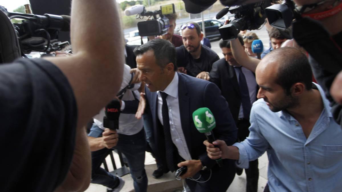 El superagente Mendes ante la justicia por supuestos montajes fiscales de Falcao