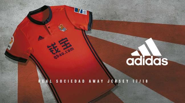 La Real Sociedad ha dado a conocer los diseños de sus nuevas equipaciones para la temporada 2017-2018.