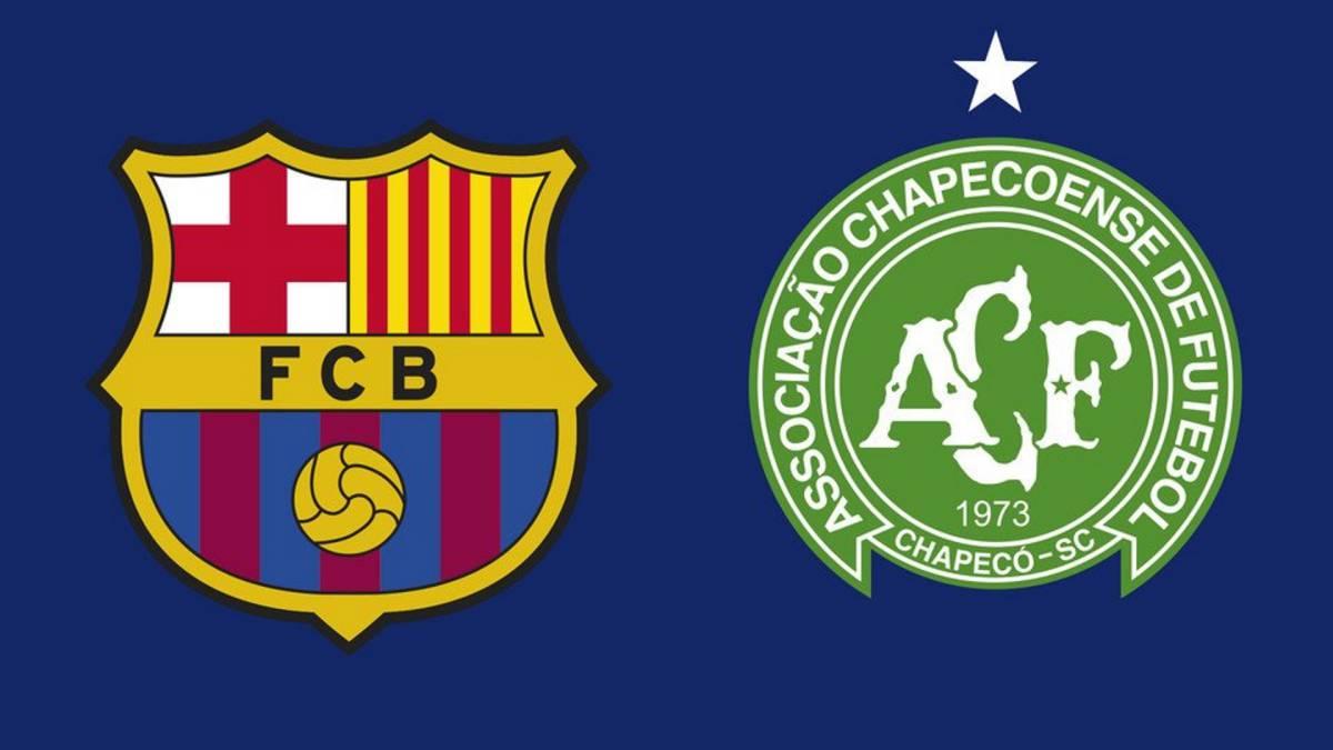 Chapecoense jugará contra el Barcelona por el trofeo Joan Gamper — Oficial