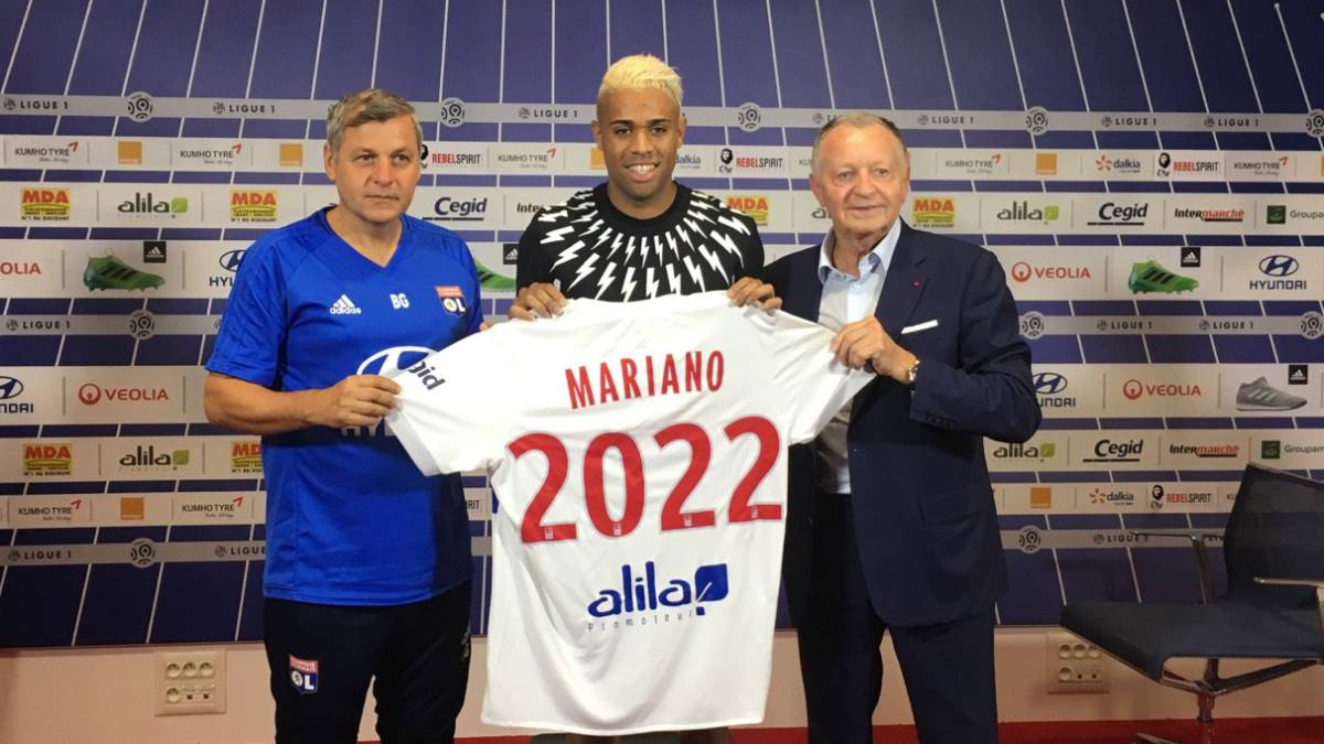 Camiseta Olympique Lyonnais Mariano DIAZ