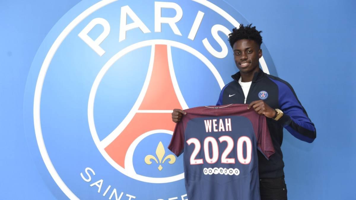 Camiseta Paris Saint Germain Timothy WEAH