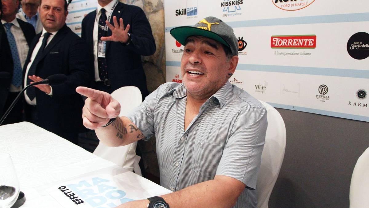 Maradona recibirá la ciudadanía de honor de Napolés
