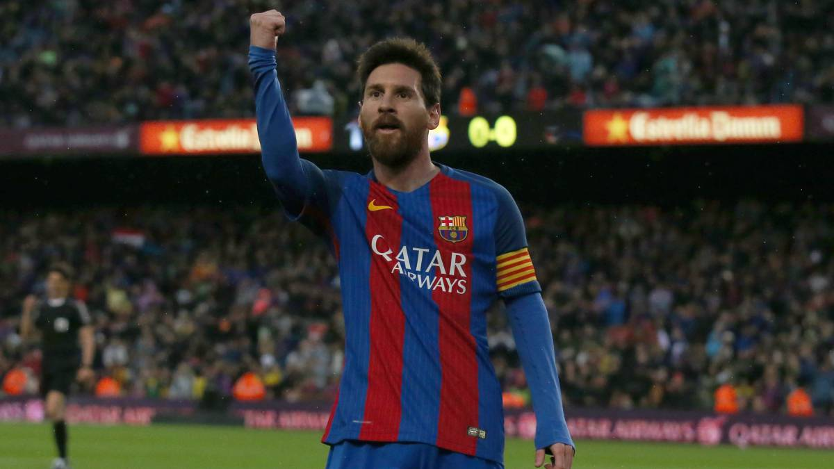 ficial Messi renews until 2021 AS