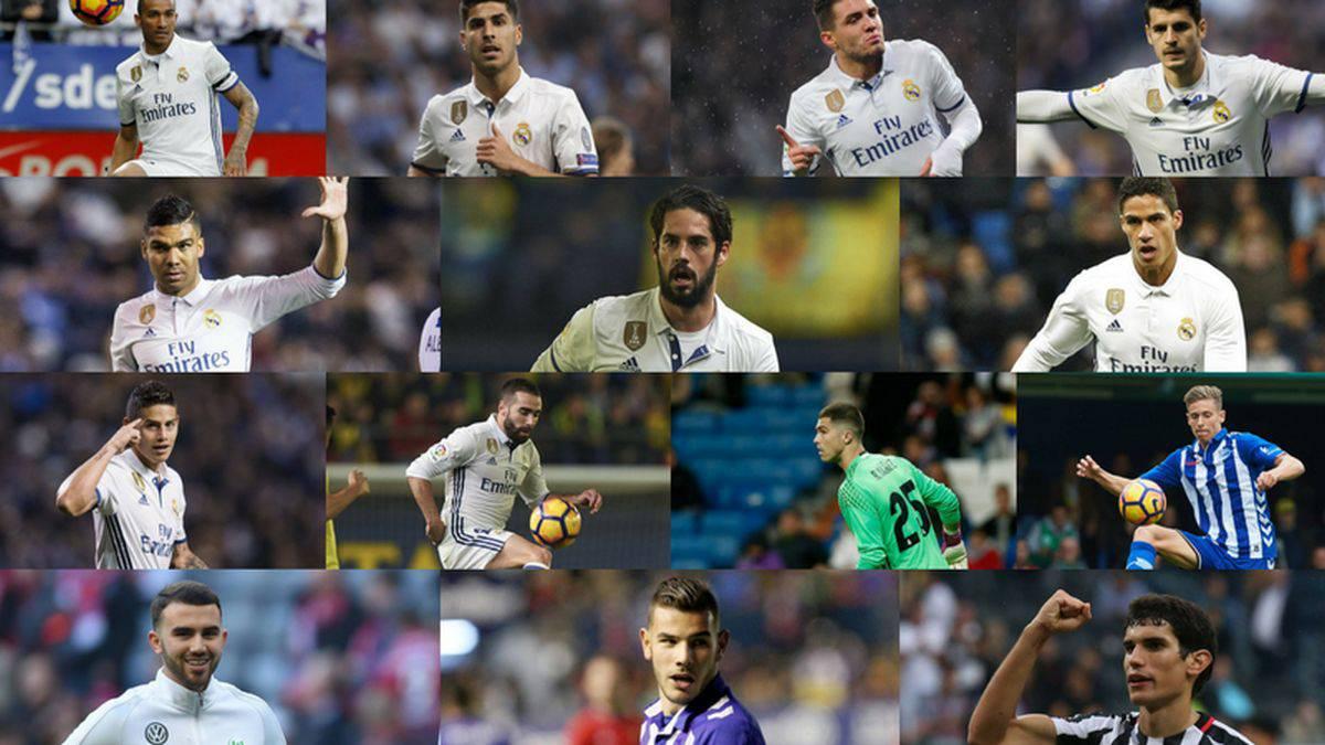 Theo olvida al Atlético y ya es del Real Madrid en Twitter
