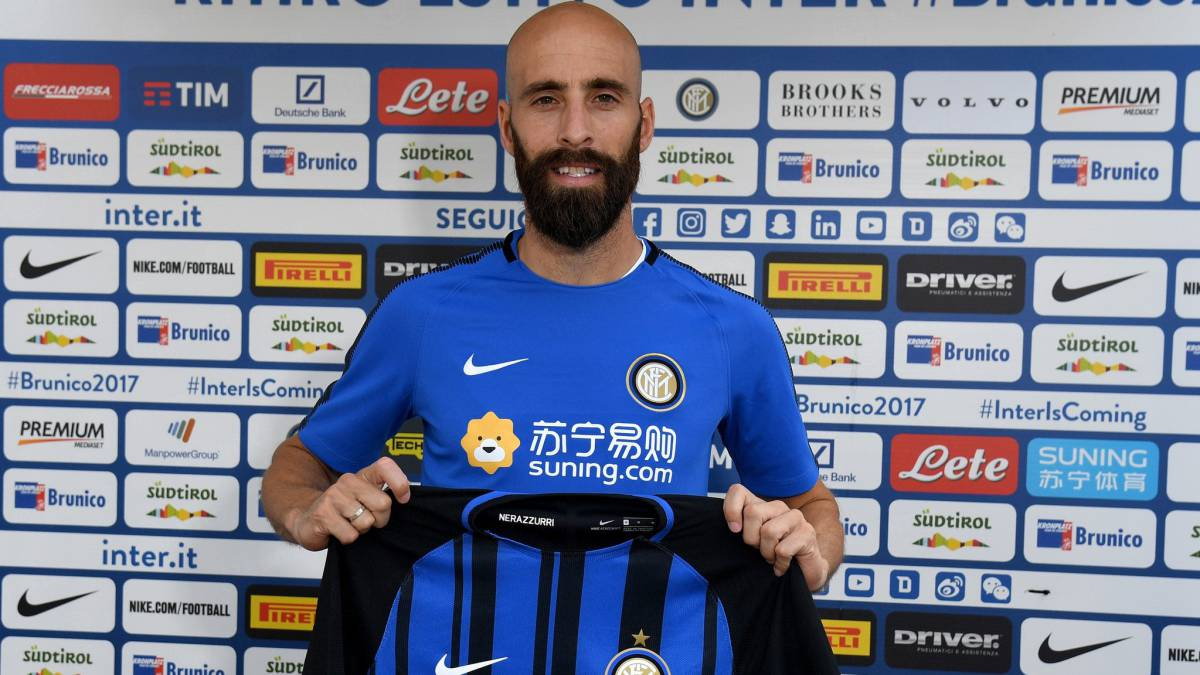 Borja Valero, Inter