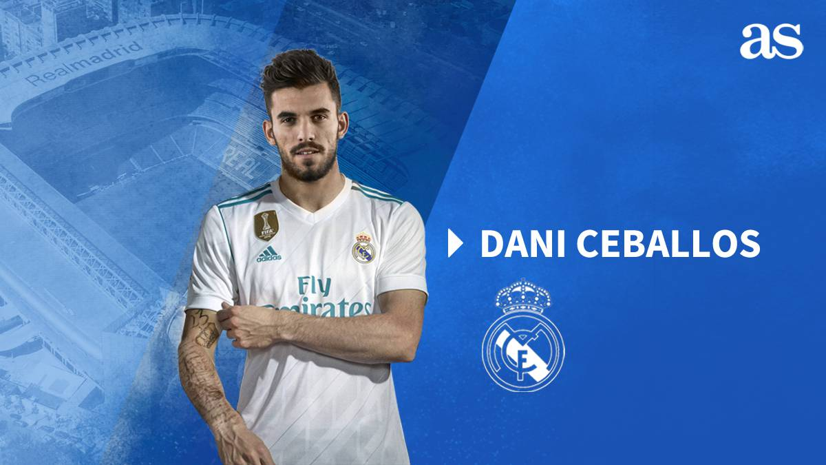Real Madrid complete Dani Ceballos signing for €18m
