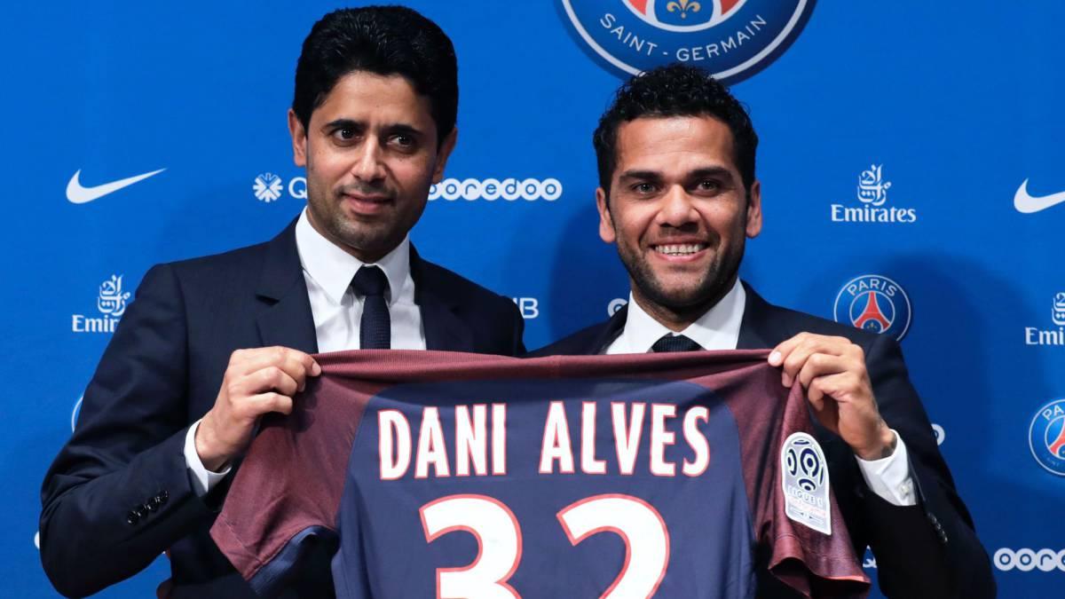 Dani Alves ingresa a filas del PSG francés