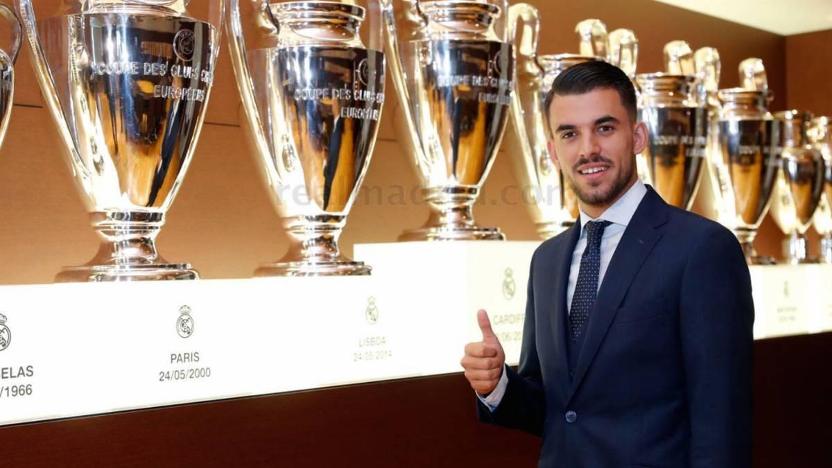 Ceballos firma con el Real Madrid por seis campañas en Liga española