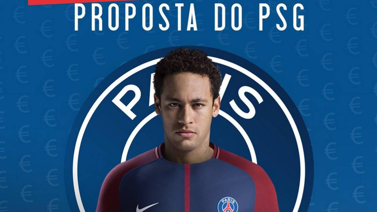PSG quiere cerrar el pase de Neymar cuanto antes