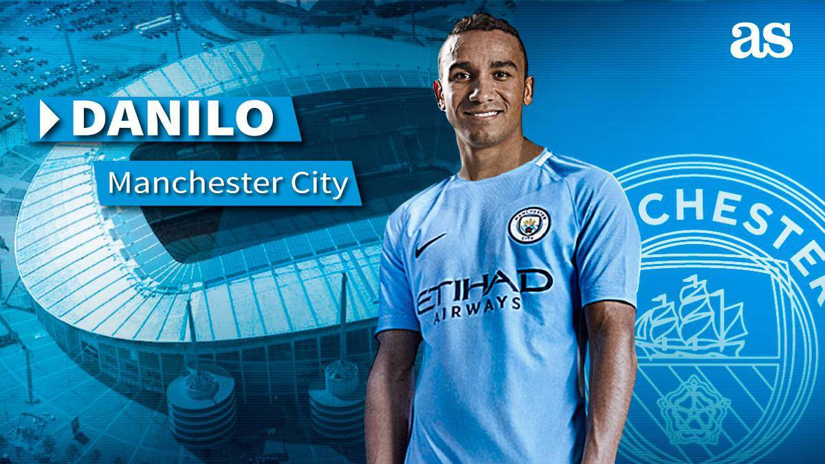 Pep splashes cash again to sign full-back Danilo
