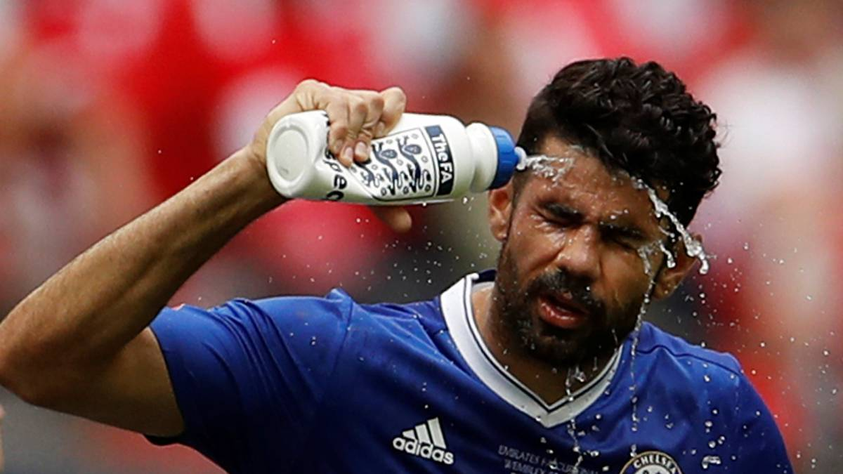 Diego Costa se refresca las ideas