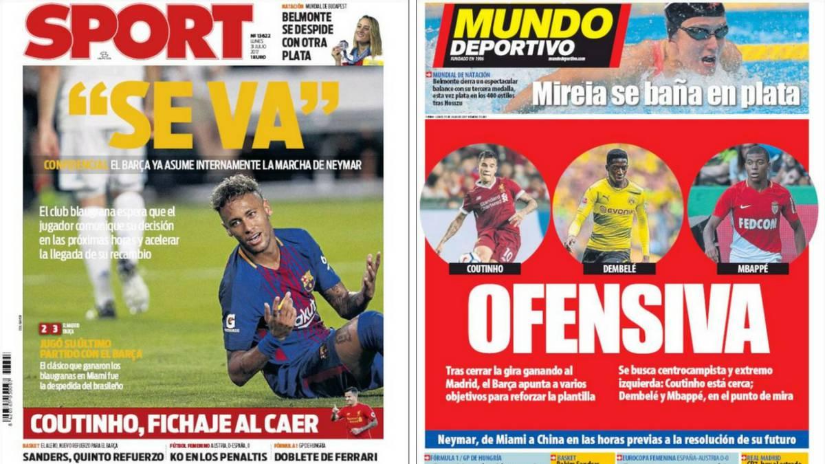 Duras críticas de Klopp al fichaje de Neymar