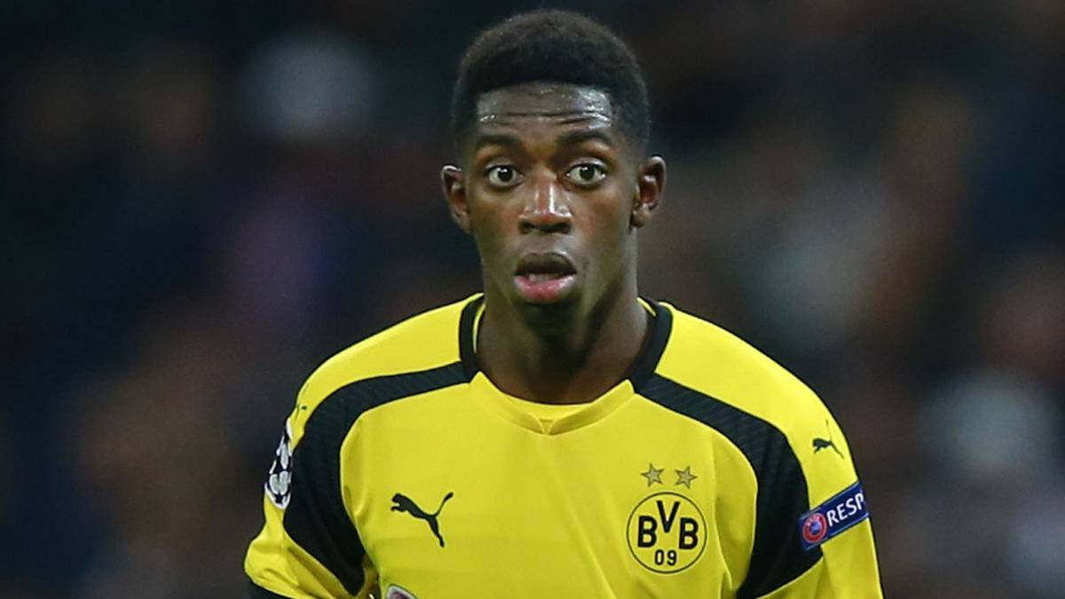 Barcelona interested in signing Borussia Dortmund's Ousmane Dembele