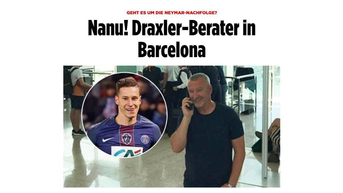 ¡Sorpresa! Sorprenden al agente de un crack del PSG en Barcelona