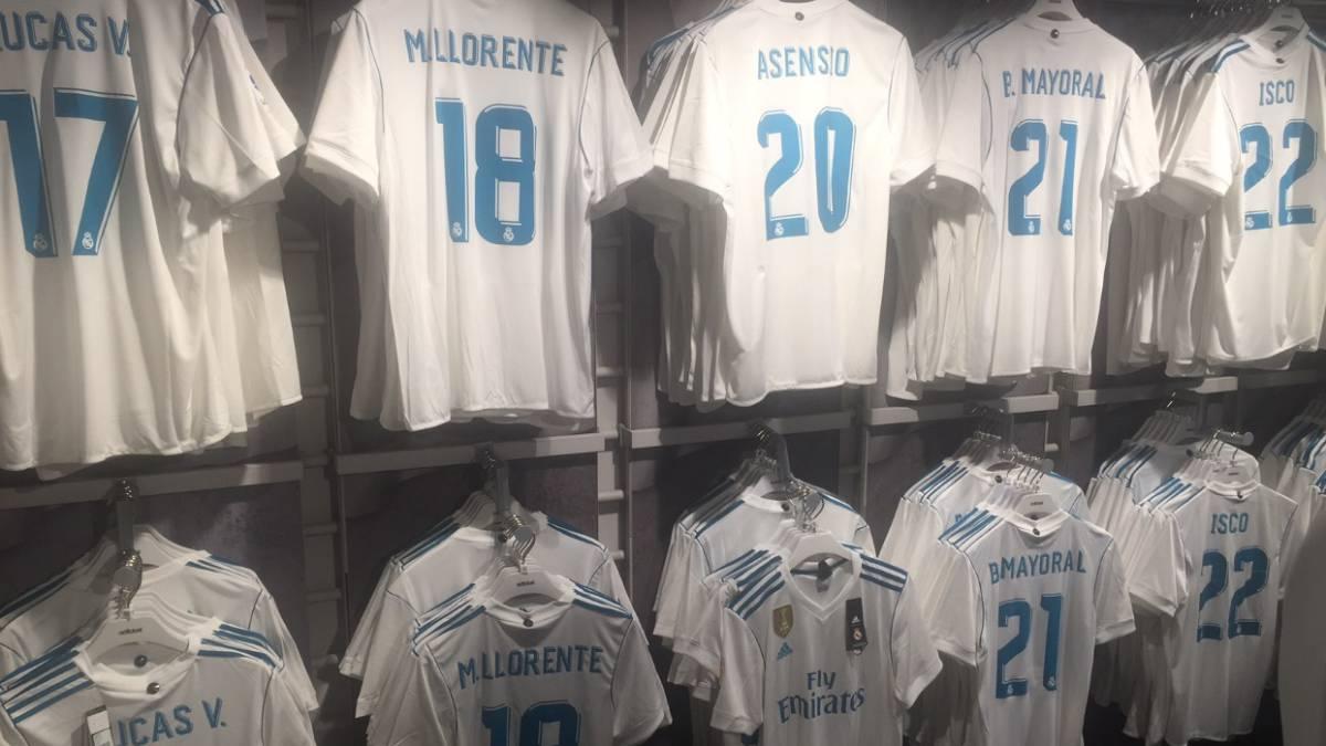 Camiseta Real Madrid M. Llorente