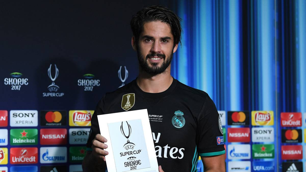Real Madrid Isco has signed new contract AS