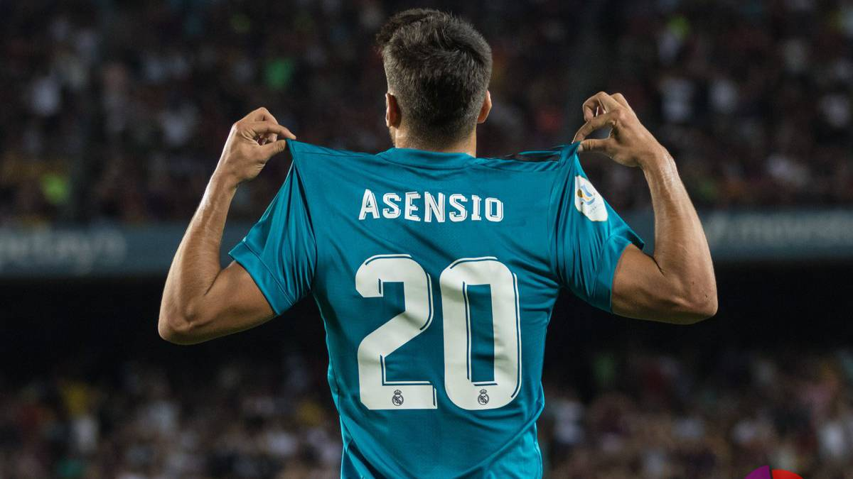 cc2f8805ea6 Marco Asensio scores on another competition debut for Madrid - AS.com